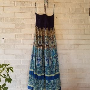 Boho Earthbound Dress Strapless